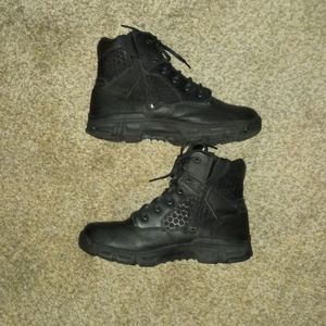 PRE-OWNED bates steel toe black tactical boot